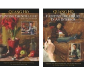 """Painting the Still-life"" & ""Painting the Figure In An Interior"" $165 including shipping and handling."