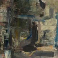 Mizuna Action 2, 20x20, oil on panel (2)