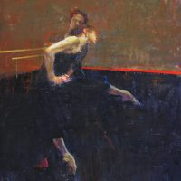 two dancers, 36x32,